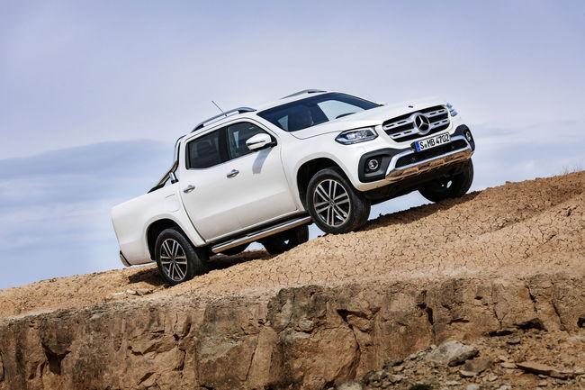 Mercedes-Benz lève le voile sur son pick-up Classe X
