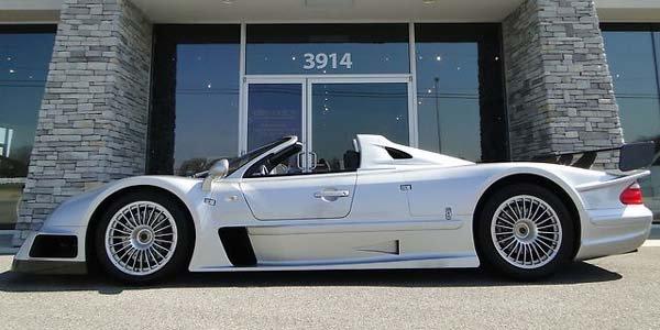 Une Mercedes CLK GTR Roadster sur ebay
