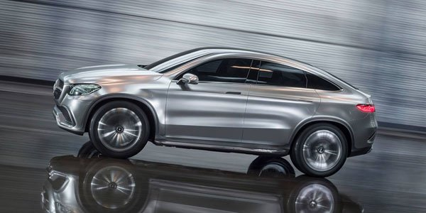 Mercedes Concept Coupé SUV : le futur MLC en filigrane