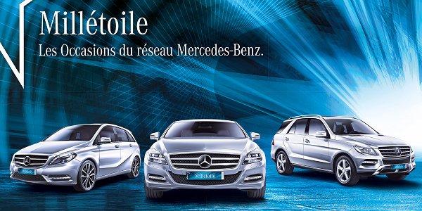 Mercedes lance les occasions Millétoile