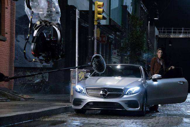 Mercedes-Benz partenaire de Justice League