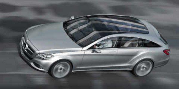 Mercedes shooting break concept