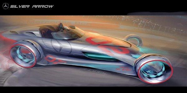 Concept Mercedes-Benz Silver Arrow