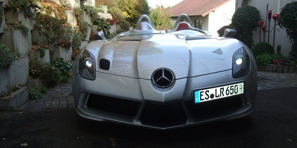 Une Mercedes SLR Stirling Moss à vendre