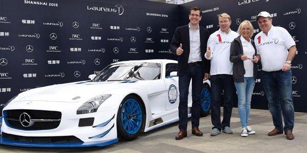 Une Mercedes SLS AMG GT3 vendue pour la bonne cause
