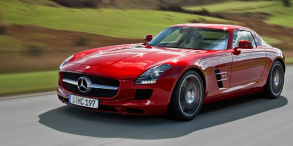 La production de la SLS AMG démarre