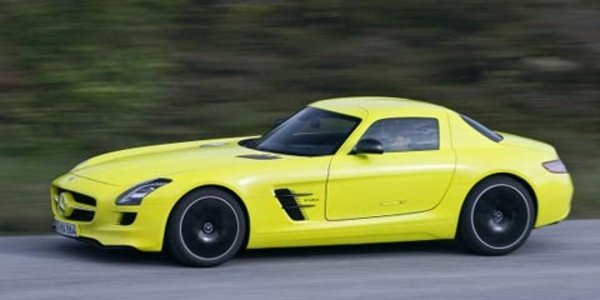 Mercedes SLS AMG E-Cell, haute tension