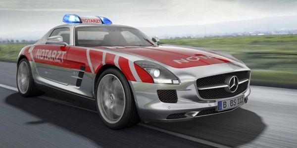 SLS AMG Medical Car Concept