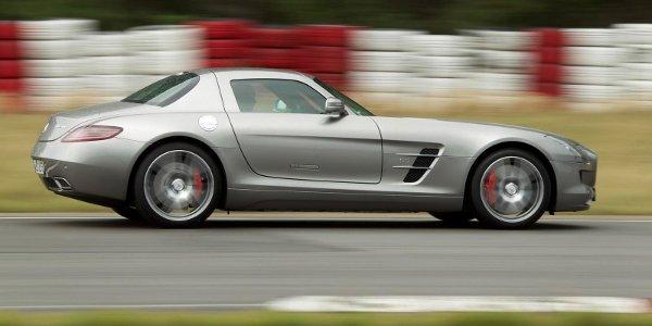 Mercedes SLS AMG: évolutions 2012