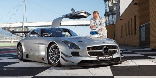 Häkkinen en ILMC en Mercedes SLS GT3