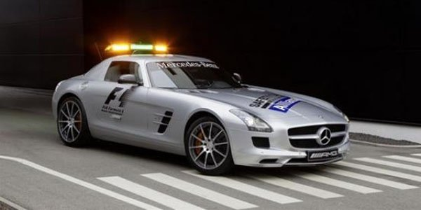 Les Safety Car F1 en 2012