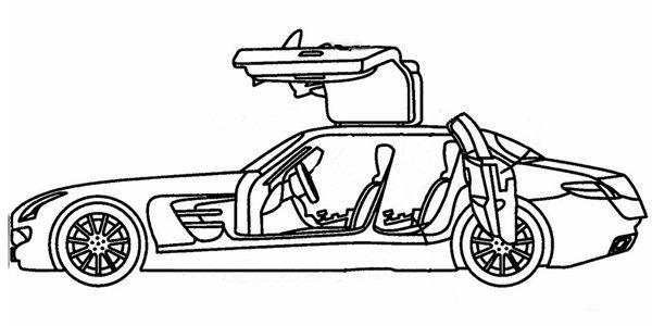 Mercedes SLS AMG berline : c'est non