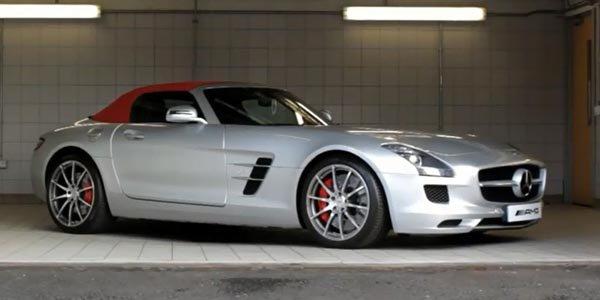 Vers une Mercedes SLS AMG diesel ?