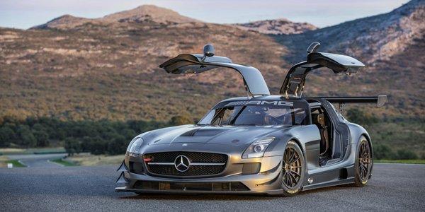 Mercedes SLS AMG GT3 spéciale 45 ans