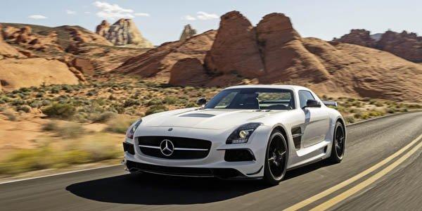 Mercedes SLS AMG Black Series : en vidéo