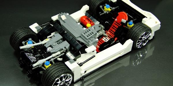 mercedes sls amg gt3 en lego actualit automobile. Black Bedroom Furniture Sets. Home Design Ideas