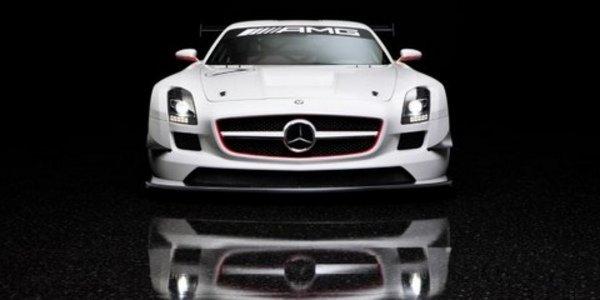 Mercedes SLS AMG GT3 aux 24H de Dubaï