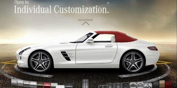 Configurateur Mercedes SLS AMG Roadster
