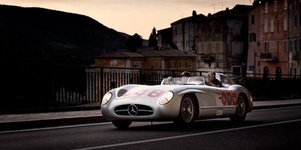 Mercedes partenaire de la Mille Miglia