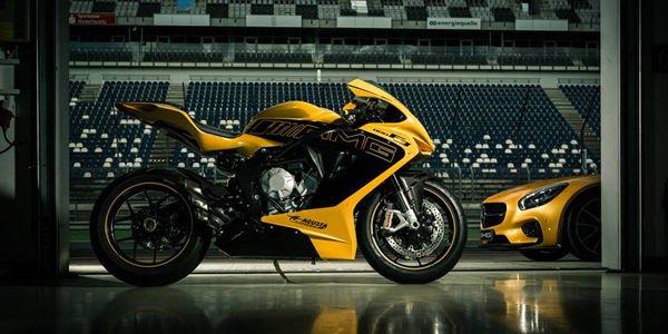 Mercedes va vendre des motos MV Agusta