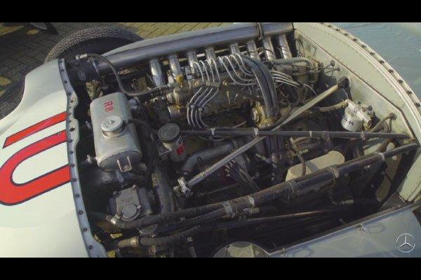 Le Team Mercedes F1 restaure la monoplace W196 de Fangio