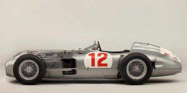 Record pour la Mercedes W196R de Fangio