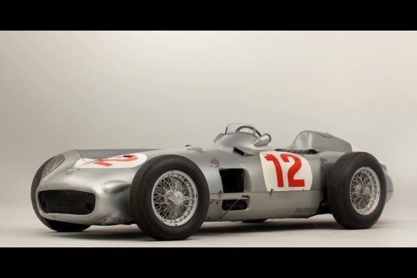 Une Mercedes des records.