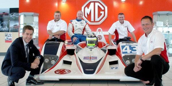 MG s'affiche en Le Mans Series