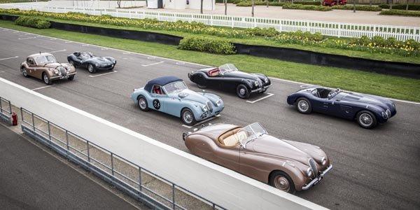 Pléiade de stars chez Jaguar pour la Mille Miglia
