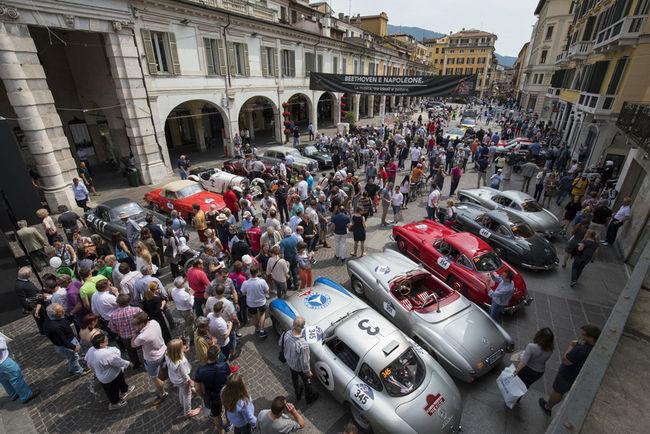 Partenariat prolongé entre Mercedes et les Mille Miglia