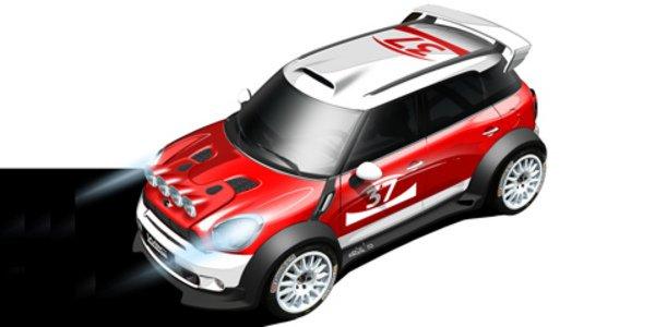 Shakedown pour la Mini Countryman WRC