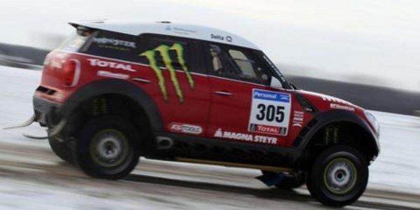Premières photos de la Mini All4 Racing