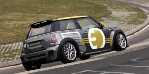 La Mini E sur le Nürburgring