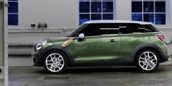 Mini Paceman : Countryman coupé