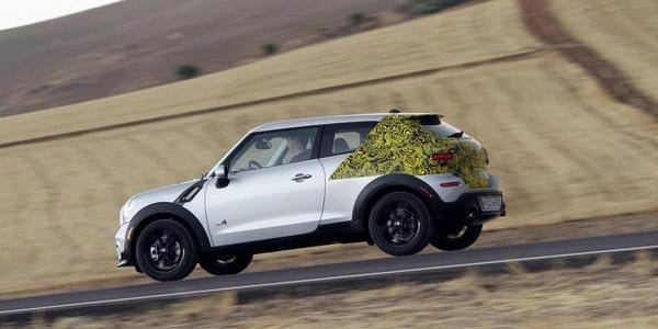 Le Mini Paceman s'exhibe sur Facebook