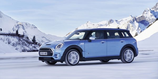Mini dote son Clubman de la transmission ALL4