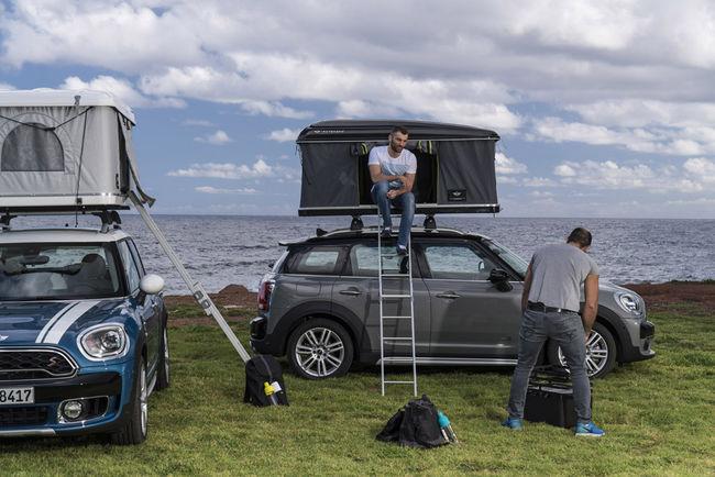 Le Mini Countryman s'équipe d'une nouvelle tente de toit