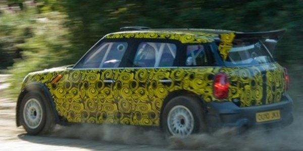 Mini Countryman WRC - essais