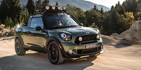 Le Mini Paceman Adventure ose le pick-up !