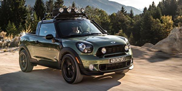 Le Mini Paceman Adventure ose le pick-up !