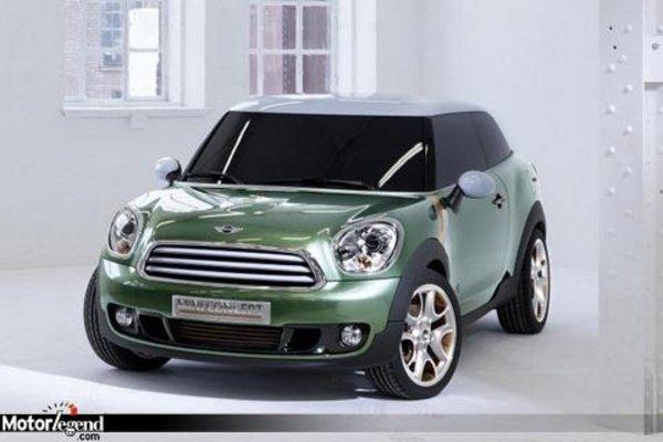 mini paceman countryman coup actualit automobile motorlegend. Black Bedroom Furniture Sets. Home Design Ideas