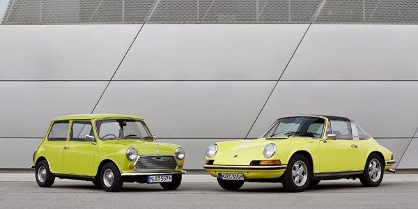 Mini rend hommage à la Porsche 911