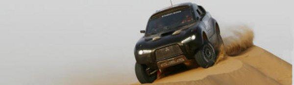 Mitsubishi : un diesel au Dakar 2009