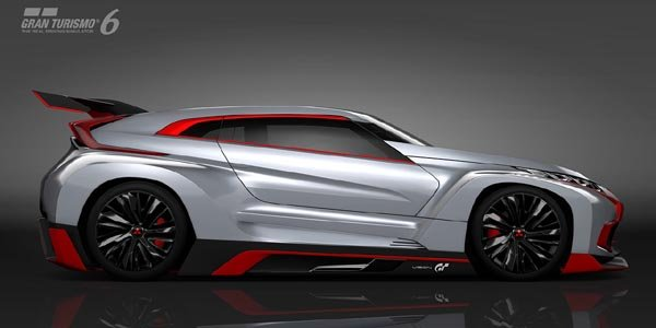 Concept Mitsubishi XR-PHEV Vision Gran Turismo