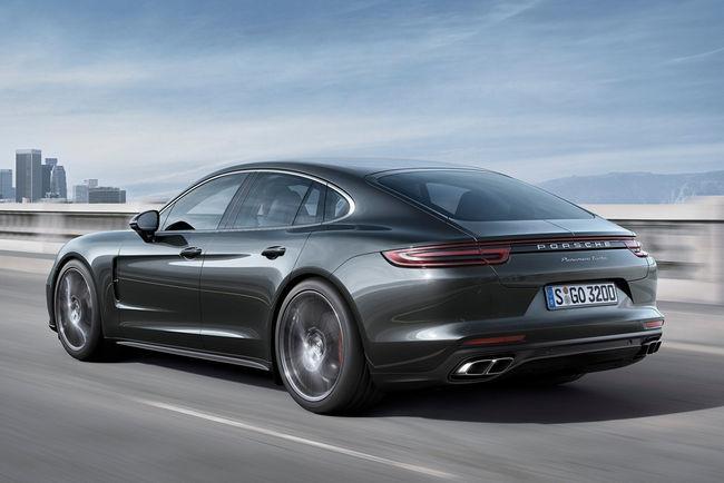 Porsche : des nouveautés pour les modèles 2017