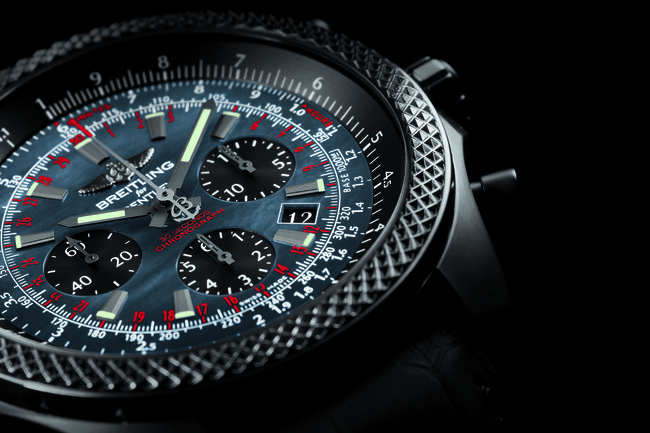 Nouvelle Bentley B06 Midnight Carbon par Breitling