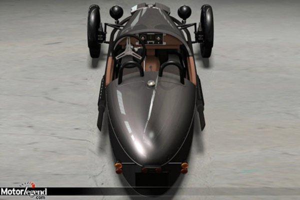 confirm morgan revient au 3 roues actualit automobile motorlegend. Black Bedroom Furniture Sets. Home Design Ideas
