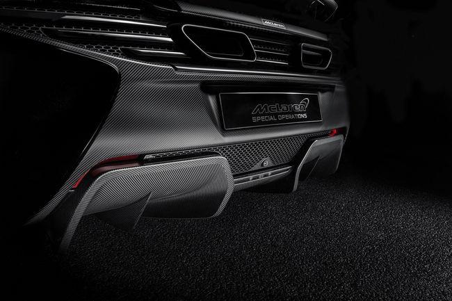 Nouvelles options en carbone pour les McLaren Super Series