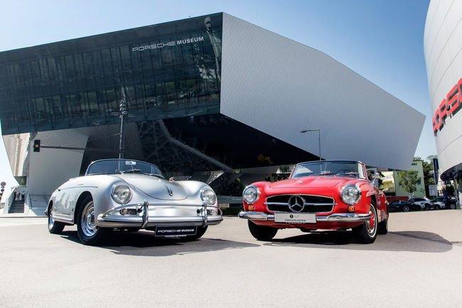 Les musées Porsche et Mercedes font cause commune