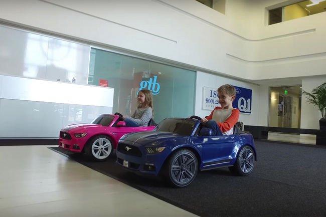 Ford Mustang et McLaren P1 électriques pour enfants